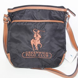 Borsa Tracolla Greenwich Polo Club nero marrone uomo Polo Ralph Lauren