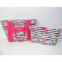 Borsa Donna Hoy collection Rosa Pink fiori Havana Shopping bag flowers