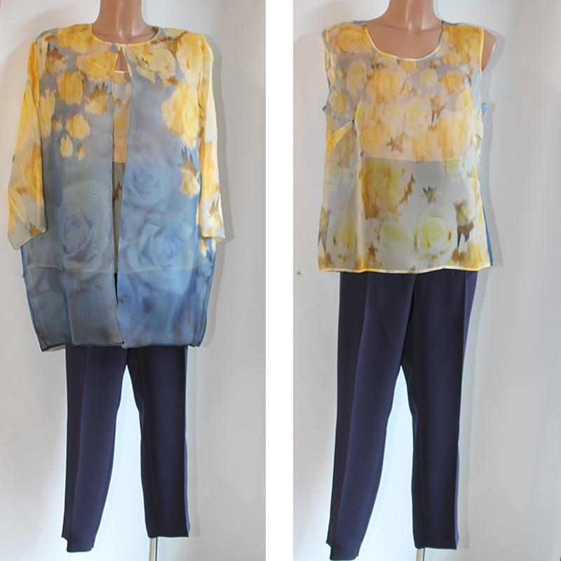 free shipping 600e2 89101 Completo casacca giacca pantalone Maria Coca 50 donna seta ...