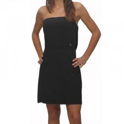ABITO DONNA MAISON ESPIN vestito nero  MW13S21AU