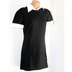 Maglia Vestito Siviglia nero con camicia donna Tg. 44
