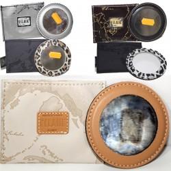 Prima Classe pochette porta specchietto Alviero Martini specchio