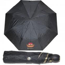 Braccialini ombrello automatico piccolo borsa nero nave 28 cm.