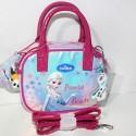 Borsa Frozen Disney Round hand bag Shinning tracolla