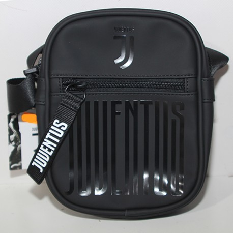 Borsa Juventus Official Product Borsello uomo tracolla nero