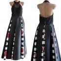 Vestito Paola Blu Couture  abito cerimonia