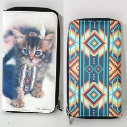 Portafoglio TEO JASMIN wallet zip porta card monete