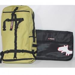 Borsa MALOPERRO Rocket Lapdop zaino bags Pc Computer Bag  Notebook verde