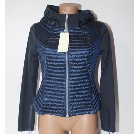 rivenditore all'ingrosso cd1c4 a3b09 Piumino Bomboogie donna 100 grammi JW958D blu giacca giubbino leggero