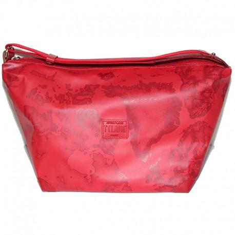 Borsa Alviero Martini Prima Classe bag donna Grande 40 cm rosso