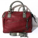 Borsa donna My Lady Bug Bordeaux grigio  bauletto