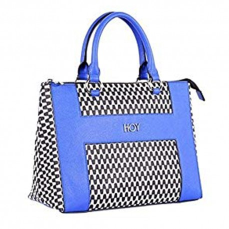 Borsa Hoy Collection Honolulu donna tracolla nero blu bianco