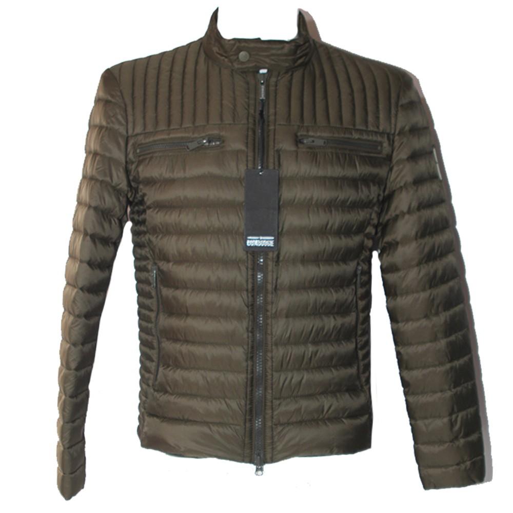 3be2bba71cafd Piumino Bomboogie bicolore JM015D uomo verde oliva giacca