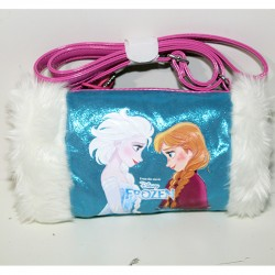 Borsa Frozen Disney Warm hand Bag scalda mani
