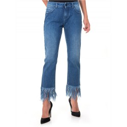 Jeans donna Up Jeans UWPA0703 MARY ZAMPA DENIM STRECH 7661 pantalone