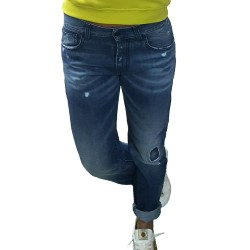 Jeans donna Up Jeans UWPA0750 CHANTY DENIM FERMO EX 153