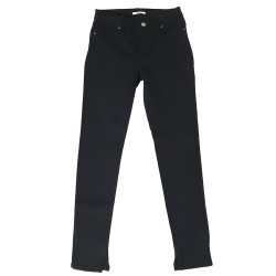 Pantalone Fifty Four donna DIJON T056 nero slim fit cinque tasche
