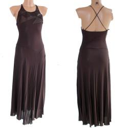 Vestito donna CLIPS marrone abito