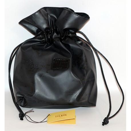 Prima Classe borsa mano pochette nero Alviero Martini