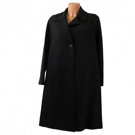 Cappotto Sfizio donna 19FA2222BIC601 giacca nero cipria
