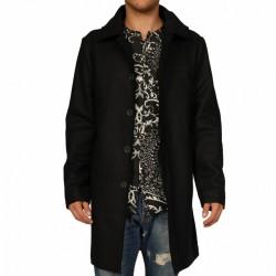 Cappotto uomo Koon APP-ST10 cappuccio removibile nero