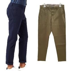 Pantalone uomo Dockers 79645 blu verde chino