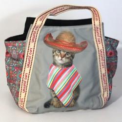 Borsa Teo Jasmine donna gatto Shopping