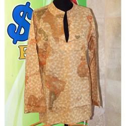 Prima Classe copri costume donna beige casacca mappa Alviero Martini