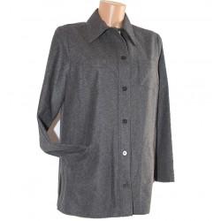 Camicia lana grigio Les copains 42 donna