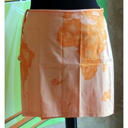 Prima Classe copri costume arancio pareo cotone Alviero Martini