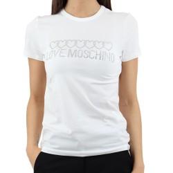 T-Shirt donna Love Moschino W 4 F73 1Q E 1951 maglia