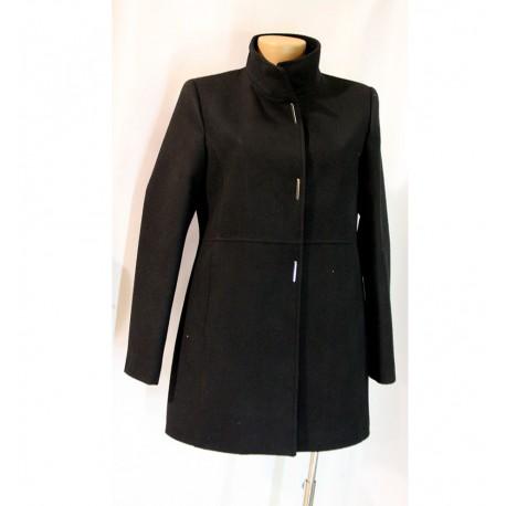 pretty nice fc823 f9be6 Giacca cappotto nero cappottino tg. 48 donna
