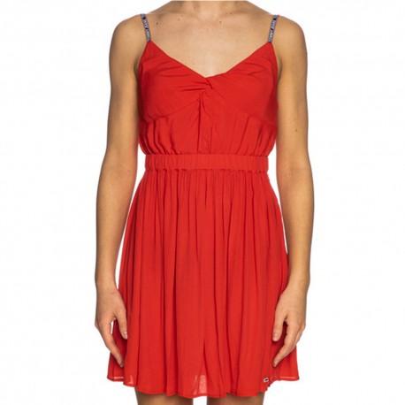 Vestito donna Tommy Hilfiger Jeans DW0DW09934abito rosso