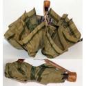 Prima Classe ombrello da borsa verde mappa Alviero Martini