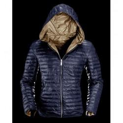 Giacca Reversibile Bomboogie uomo blu  piumino giacca
