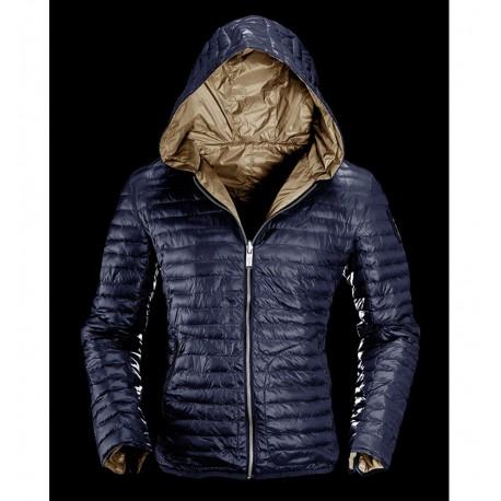 Giacca Reversibile Bomboogie uomo blu S M XL XXL piumino giacca