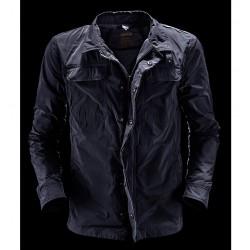 Giacca camicia giubbino uomo Bomboogie M L XL XXL blu