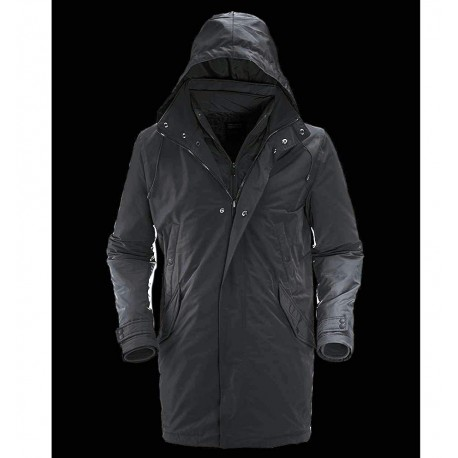 info for 2c1e9 16a13 TRENCH UOMO Bomboogie giaccone parka Imbottitura termica blu