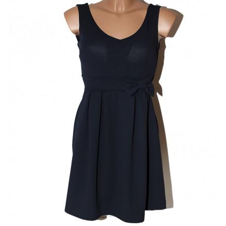 Vestito donna blu WH Fashion S vestitino corto