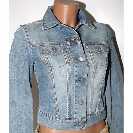 Giacca jeans Richmond Denim 42 cotone donna
