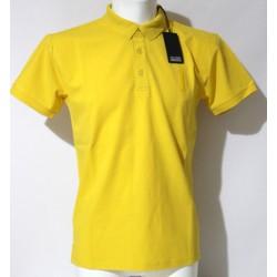 Polo t shirt Bomboogie uomo giallo manica corta L XL XXL