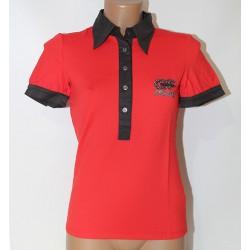Maglia t shirt Gianfranco Ferrè donna M rosso nero camicia