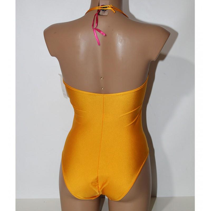 Costume intero donna d 39 este donna giallo 42 mare piscina - Costume intero uomo piscina ...