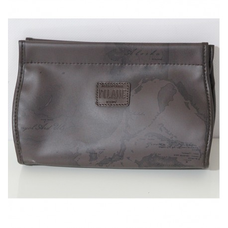 Beauty Case Pochette Prima Classe Alviero Martini Marrone