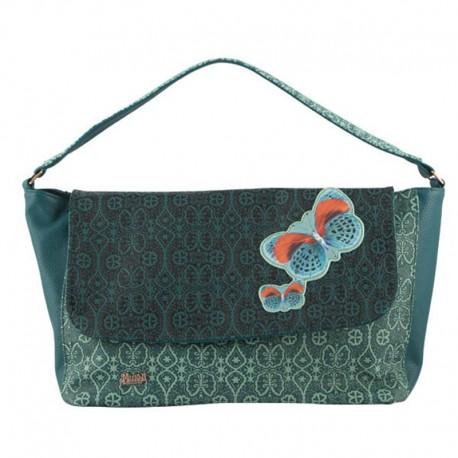 Borsa Mundi Accessories bags verde Demy Collection tracolla bolso donna
