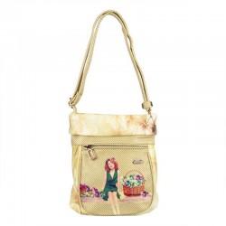 Borsa Mundi Accessories bag tracolla beige Vichy collection bolso donna