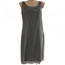 Abito vestito Trend di Les Copains 44 donna argento grigio
