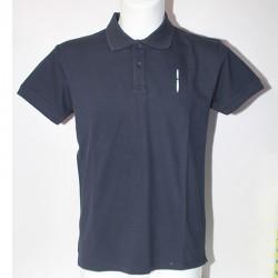 Polo Maglia Tshirt Bomboogie Uomo L manica corta TM2563 Blu