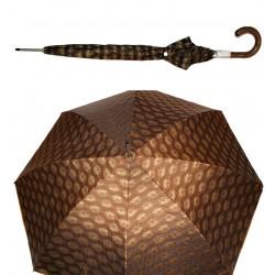 Prima Classe ombrello grande marrone chiaro Alviero Martini