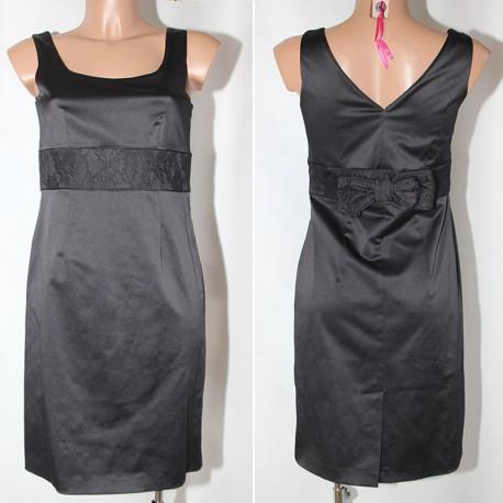 Abito vestito Malibu  tubino nero donna